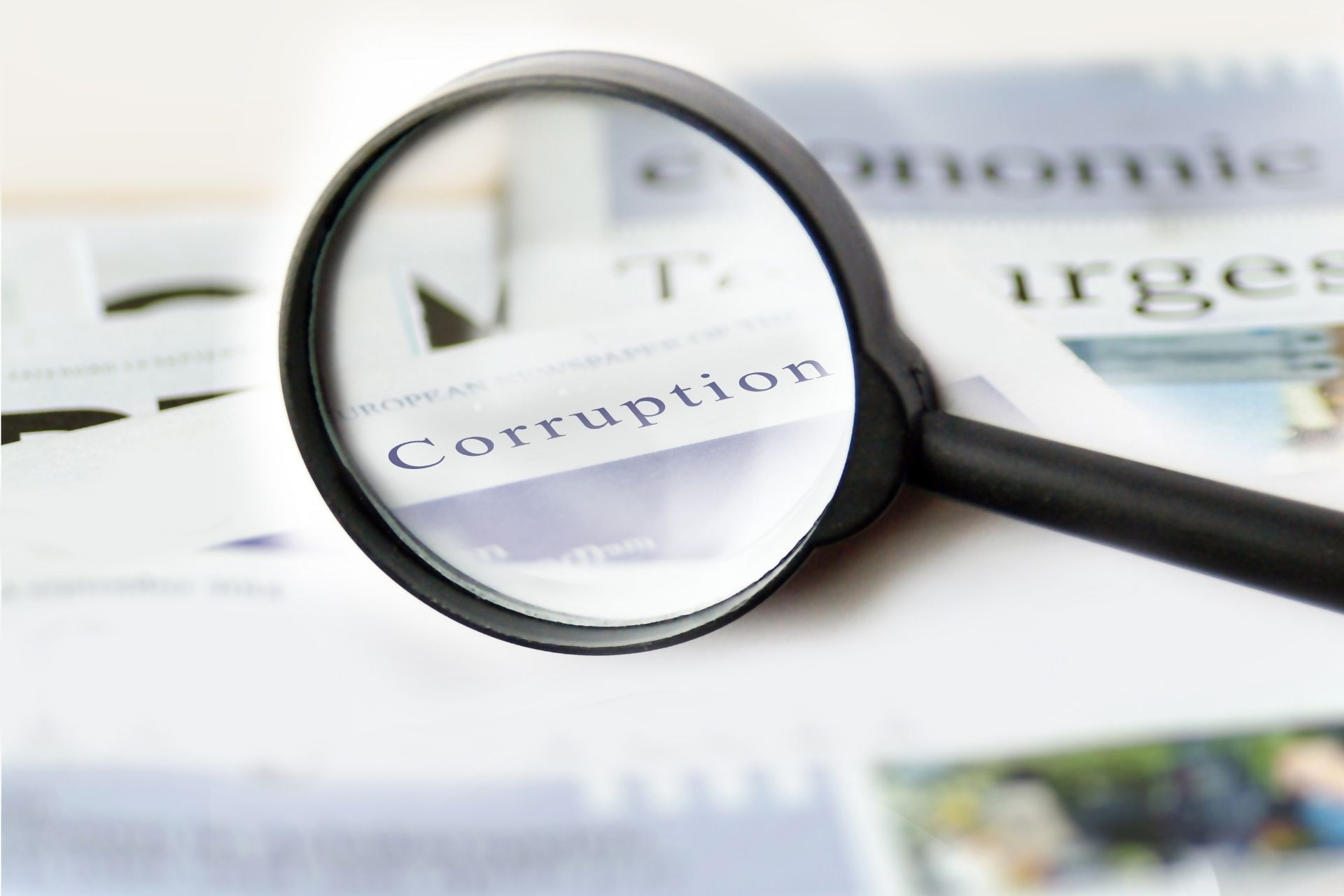 formas para detectar la corrupción en las empresas